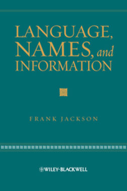 Jackson, Frank - Language, Names, and Information, ebook