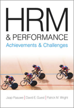 Guest, David E - HRM and Performance: Achievements and Challenges, ebook