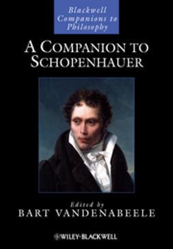 Vandenabeele, Bart - A Companion to Schopenhauer, e-kirja