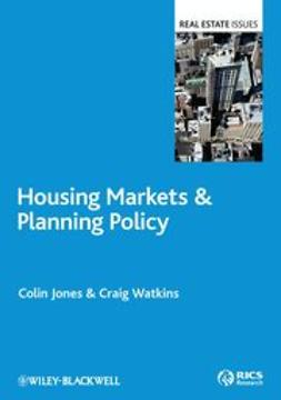 Jones, Colin - Housing Markets and Planning Policy, ebook