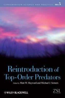 Hayward, Matt W. - Reintroduction of Top-Order Predators, ebook