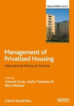 Gruis, Vincent - Management of Privatised Housing: International Policies and Practice, ebook