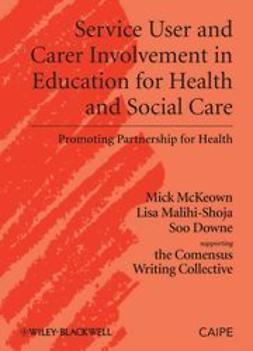 McKeown, Michael - Service User and Carer Involvement in Health and Social Care Education, e-kirja