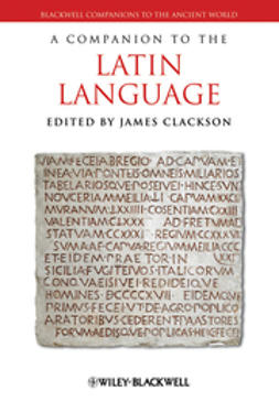 Clackson, James - A Companion to the Latin Language, ebook