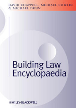 Chappell, David - Building Law Encyclopaedia, ebook