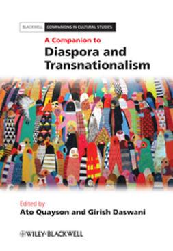 Daswani, Girish - A Companion to Diaspora and Transnationalism, ebook
