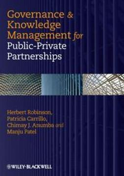 Robinson - Governance and Knowledge-Management for Public-Private Partnerships, e-kirja