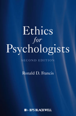 Francis, Ronald D. - Ethics for Psychologists, ebook