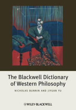Bunnin, Nicholas - The Blackwell Dictionary of Western Philosophy, e-bok