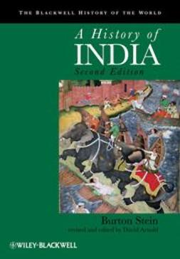 Stein, Burton - A History of India, ebook
