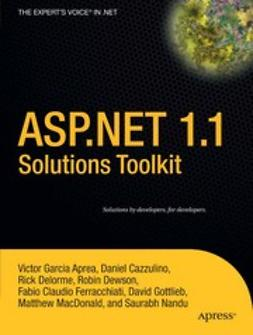 Aprea, Victor Garcia - ASP.NET 1.1 Solutions Toolkit, ebook