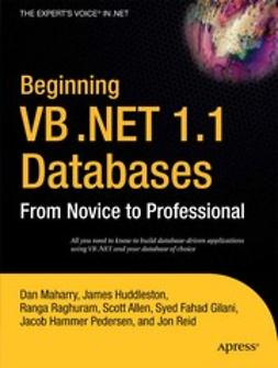 Allen, Scott - Beginning VB .NET 1.1 Databases, ebook