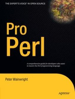 Wainwright, Peter - Pro Perl, ebook