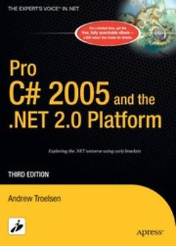 Troelsen, Andrew - Pro C# 2005 and the .NET 2.0 Platform, ebook