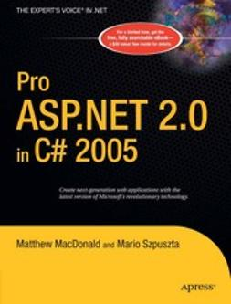 MacDonald, Matthew - Pro ASP.NET 2.0 in C# 2005, ebook