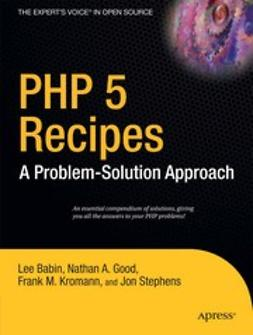 Babin, Lee - PHP 5 Recipes, e-bok