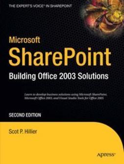 Hillier, Scot P. - Microsoft SharePoint, ebook