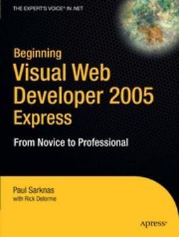 Delorme, Rick - Beginning Visual Web Developer 2005 Express, ebook