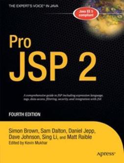 Brown, Simon - Pro JSP 2, e-kirja