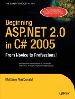MacDonald, Matthew - Beginning ASP.NET 2.0 in C# 2005, e-kirja