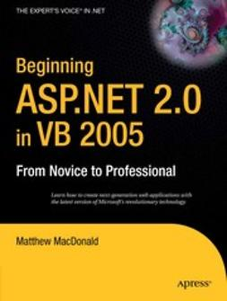 MacDonald, Matthew - Beginning ASP.NET 2.0 in VB 2005, e-kirja