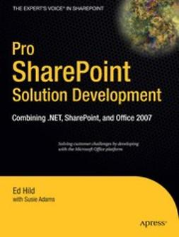 Adams, Susie - Pro SharePoint Solution Development, ebook