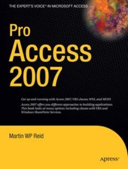 Reid, Martin W P - Pro Access 2007, ebook