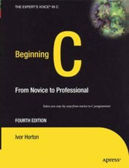Horton, Ivor - Beginning C, ebook