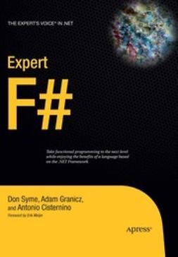 Cisternino, Antonio - Expert F#, e-bok