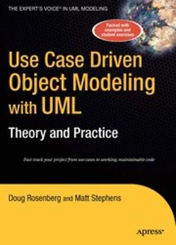 Rosenberg, Doug - Use Case Driven Object Modeling with UML, ebook