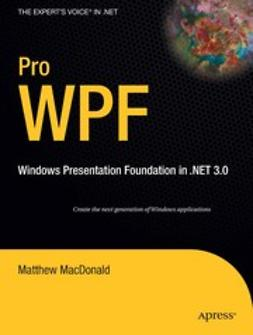 MacDonald, Matthew - Pro WPF, ebook