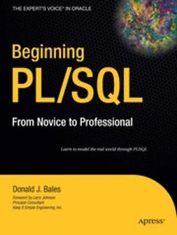 Beginning PL/SQL