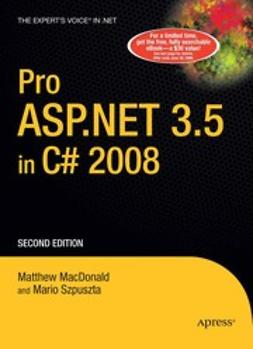 MacDonald, Matthew - Pro ASP.NET 3.5 in C# 2008, e-bok