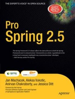Chakraborty, Anirvan - Pro Spring 2.5, ebook