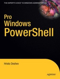 Deshev, Hristo - Pro Windows PowerShell, ebook