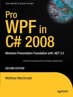 MacDonald, Matthew - Pro WPF in C# 2008, ebook