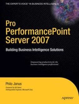 Janus, Philo - Pro PerformancePoint Server 2007, ebook