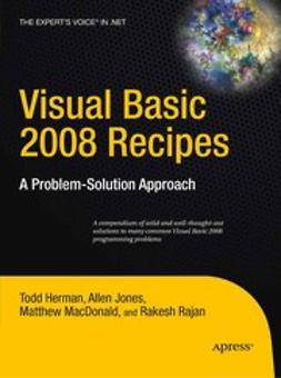 Herman, Todd - Visual Basic 2008 Recipes, ebook