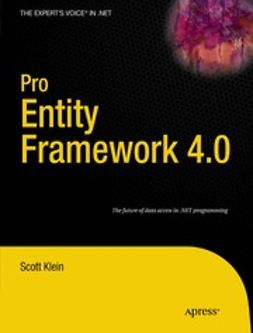 Klein, Scott - Pro Entity Framework 4.0, ebook