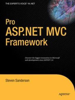 Sanderson, Steven - Pro ASP.NET MVC Framework, ebook