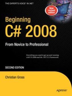 Gross, Christian - Beginning C# 2008, ebook