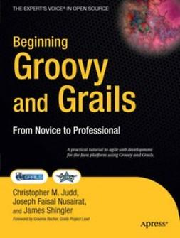 Judd, Christopher M. - Beginning Groovy and Grails, ebook