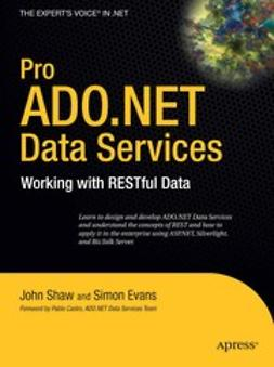 Evans, Simon - Pro ADO.NET Data Services, e-bok