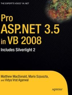 MacDonald, Matthew - Pro ASP.NET 3.5 in VB 2008, e-kirja