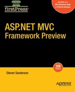 Sanderson, Steven - ASP.NET MVC Framework Preview, ebook