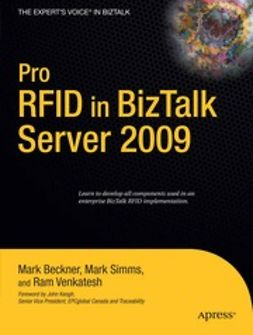 Beckner, Mark - Pro RFID in BizTalk Server 2009, ebook