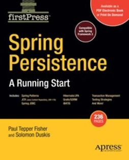 Fisher, Paul Tepper - Spring Persistence, e-kirja