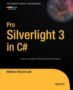 MacDonald, Matthew - Pro Silverlight 3 in C#, e-bok