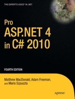 MacDonald, Matthew - Pro ASP.NET 4 in C# 2010, ebook