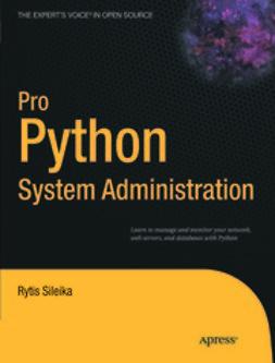 Parkes, Duncan - Pro Python System Administration, ebook